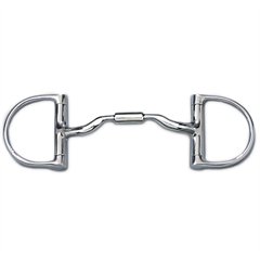 Myler English Pony Dee without Hooks with Low Port Comfort Snaffle™ MB 04