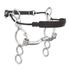 Myler 3-Ring Combination Bit Low Port Comfort Snaffle MB 04
