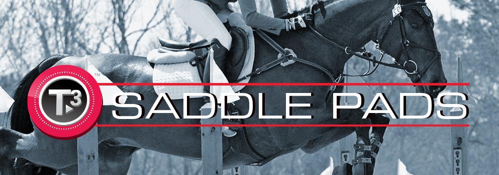 Shop T3 Saddle Pads - Toklat Equestrian Equipment